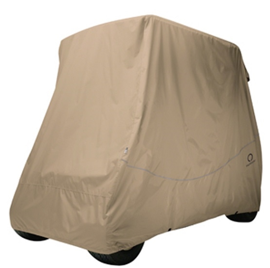Light Khaki Breathable Air Mesh Golf Cart Seat Cover - Universal Fit