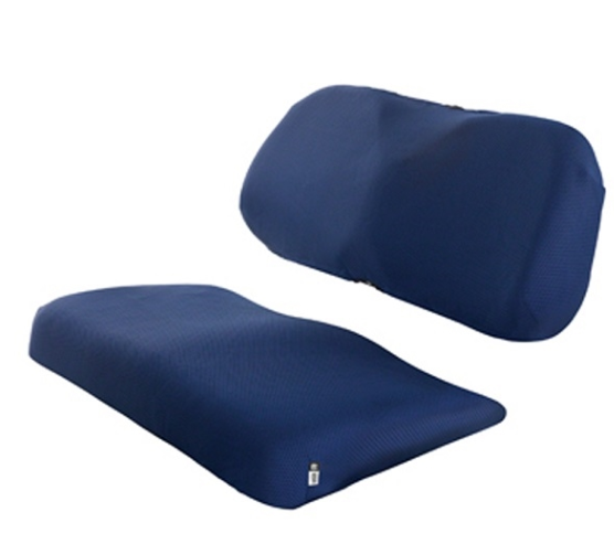 Navy Breathable Air Mesh Golf Cart Seat Cover - Universal Fit