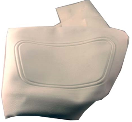 SEAT BACK COVER OYSTER EZGO RXV 08+