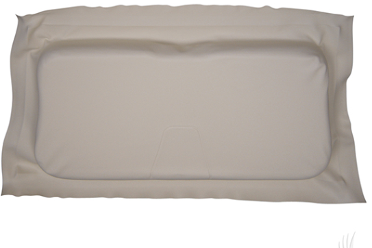 SEAT BOTTOM COVER OYSTER EZGO RXV 08+