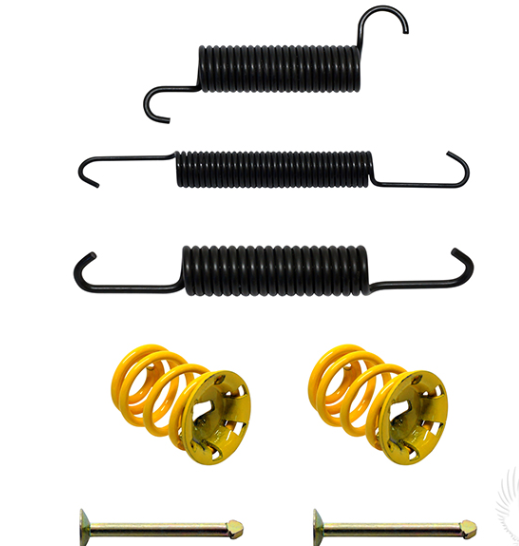 Parts Direct EZGO Golf Cart Brake Spring Replacement Kit