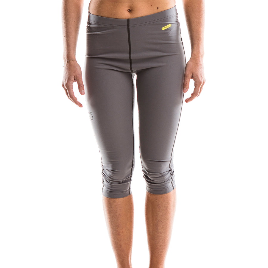 SeasonFive Women's Barrier Atmos 1.0 Capri great for; kayaking, biking, watersports, surfing, sailing, paddle boarding, fishing, trails, snowsports, and as a base layer