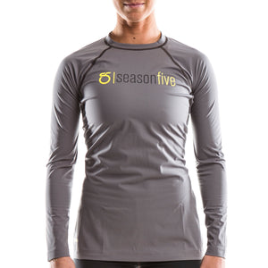 SeasonFive Women's Barrier Atmos 1.0 shirt great for; kayaking, watersports, surfing, sailing, paddle boarding, fishing, snowsports, and as a base layer