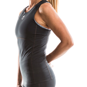 SeasonFive Women's Barrier Atmos 1.0 Tank great for; biking, watersports, surfing, paddle boarding, and sun protection