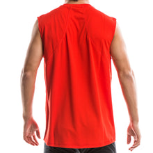 SeasonFive Men's Chalk sleeveless Atmos LT shirt great for; biking, watersports, surfing, sailing, paddle boarding, fishing, sun protection, trails, and any activewear