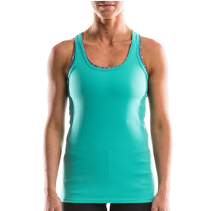 SeasonFive Women's Crystal Atmos LT Tank great for; biking, watersports, surfing, sailing, paddle boarding, fishing, sun protection, trails, and any activewear
