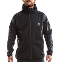 An image of a man wearing a Men's Basalt Hoodie from SeasonFive