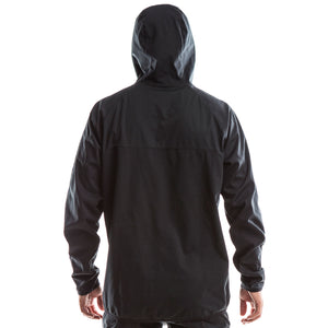 SeasonFive Men's Atmos 2.0 Basalt Hoodie great for; kayaking, watersports, sailing, paddle boarding, fishing, snowsports, biking, trails, outerwear, and cold weather