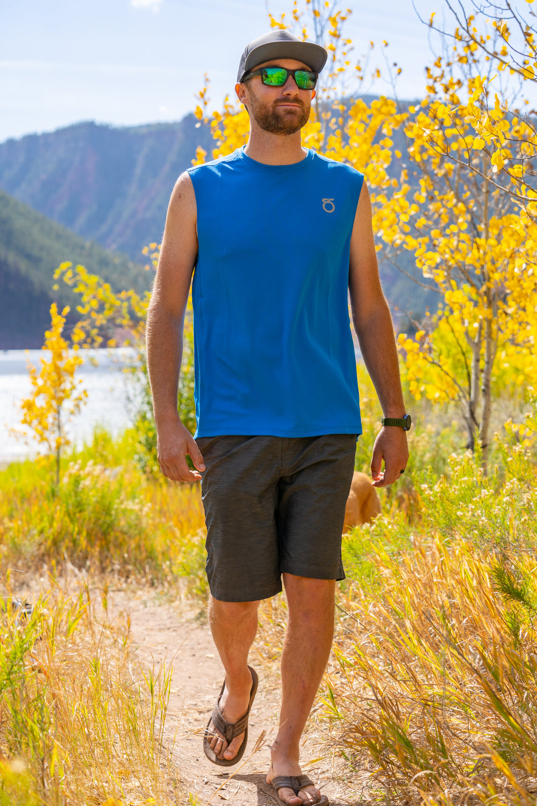 Men's Chalk Sleeveless Shirt
