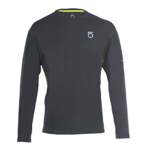 A picture of a black Men's Animas Long-Sleeve Shirt from SeasonFive.