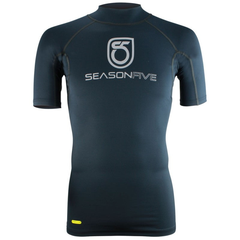 SeasonFive Men's  Barrier Mock Atmos 1.0 shirt great for; kayaking, watersports, surfing, sailing, paddle boarding, fishing, sun shirt, snowsports, and as a baselayer
