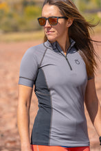 Women's Siren Short-Sleeve Quarter-Zip