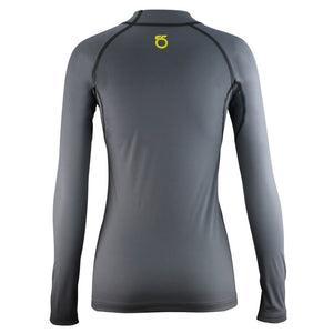 SeasonFive Women's Barrier Mock Atmos 1.0 shirt great for; kayaking, watersports, surfing, sailing, paddle boarding, fishing, snowsports, and as a base layer