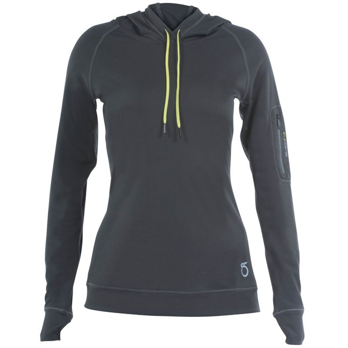 SeasonFive Women's Atmos LT Kiowa Hoodie great for; biking, fishing, sailing, paddle boarding, trails, surfing, sun protection, watersports, and any activewear