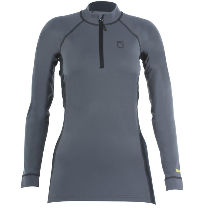 SeasonFive Women's Siren Atmos 1.0 Quarter Zip top for standup paddleboarding, sup, kayaking, water sports, snowsports, sailing, biking, and surfing