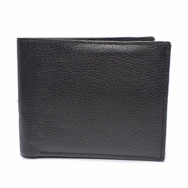 Men's Black Mild Leather Wallet with RFID Blocking and Interior Coin Pouch - Nab Leather Co