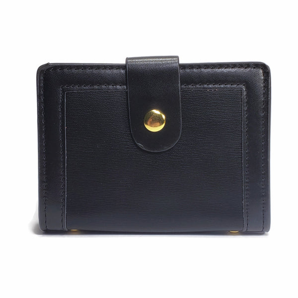 Slim PU Leather Card Holder Wallet with RFID Blocking - Nab Leather Co