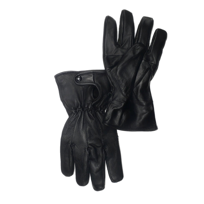 Women's 100% Genuine Leather Buttoned Gloves - Nab Leather Co