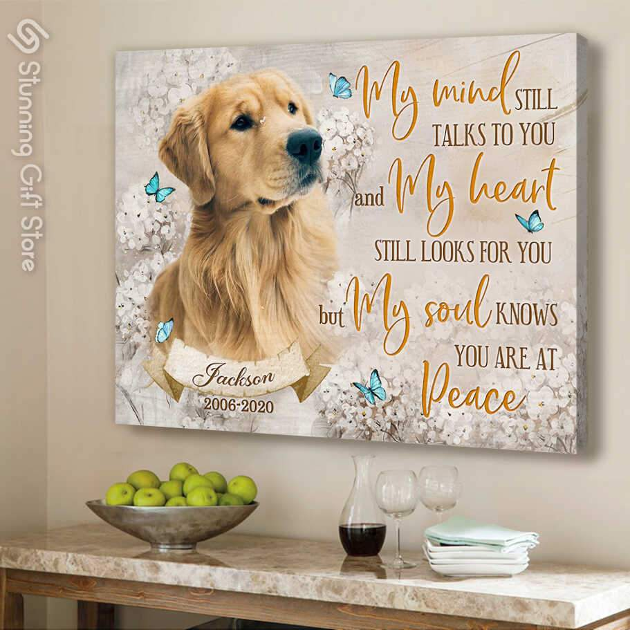 PERSONALIZED PET MEMORIAL GIFTS   CUSTOM DOG PICTURES   SYMPATHY GIFT FOR LOSS OF DOG