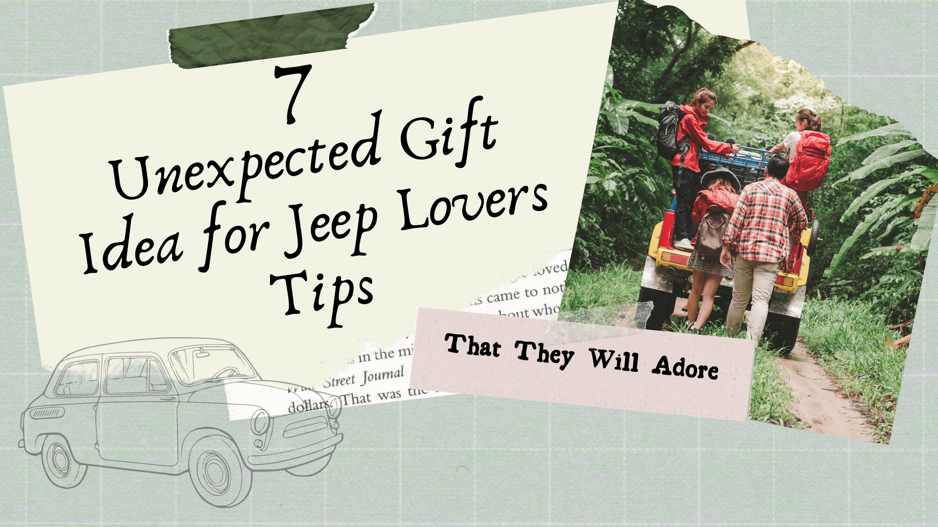 Stunning gift store blog 7 Unexpected Gift Idea for Jeep Lovers Tips That They Will Adore