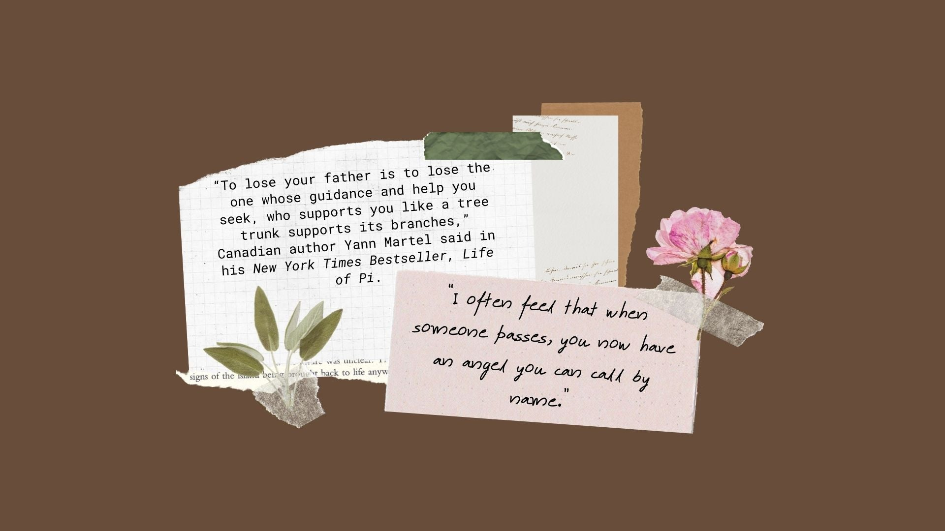 loss of father quotes