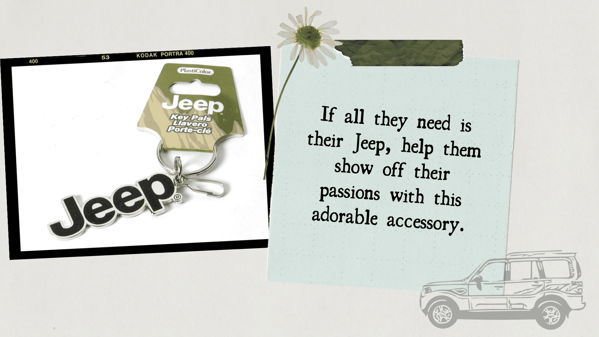 stunning gift store Blog Gift idea Jeep Logo keychain for jeep lovers