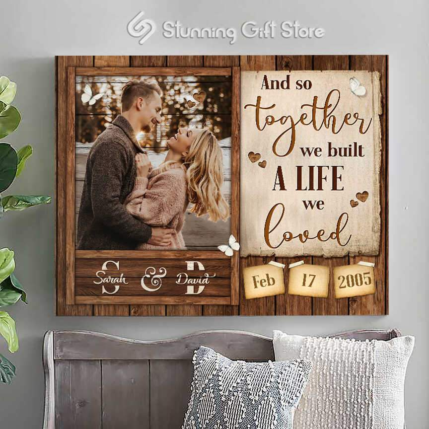 Custom photo gifts   Personalized name wall decor   Best photo gifts