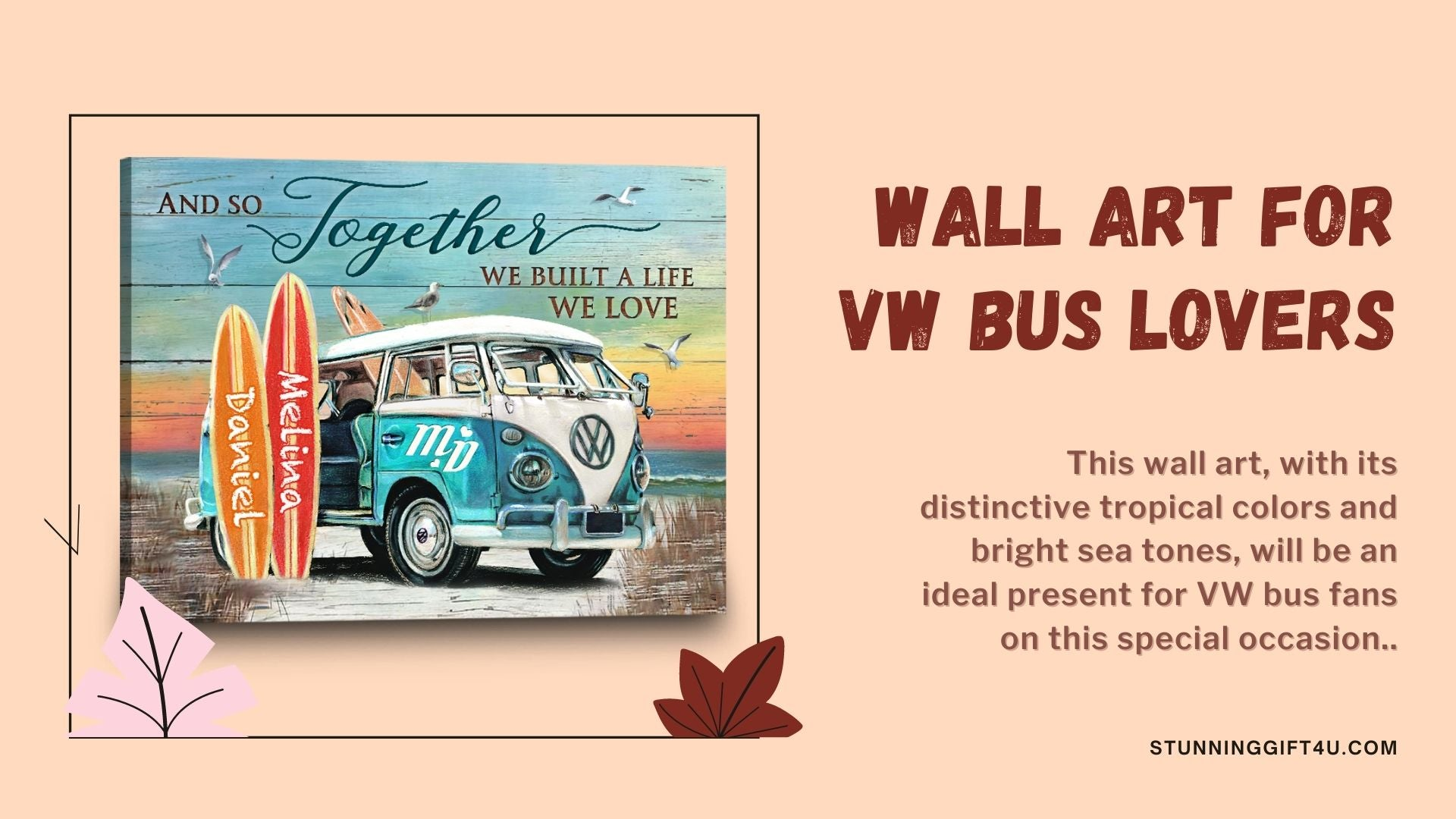 Check out a gift for him wall art for bus lovers from Stunning Gift Store