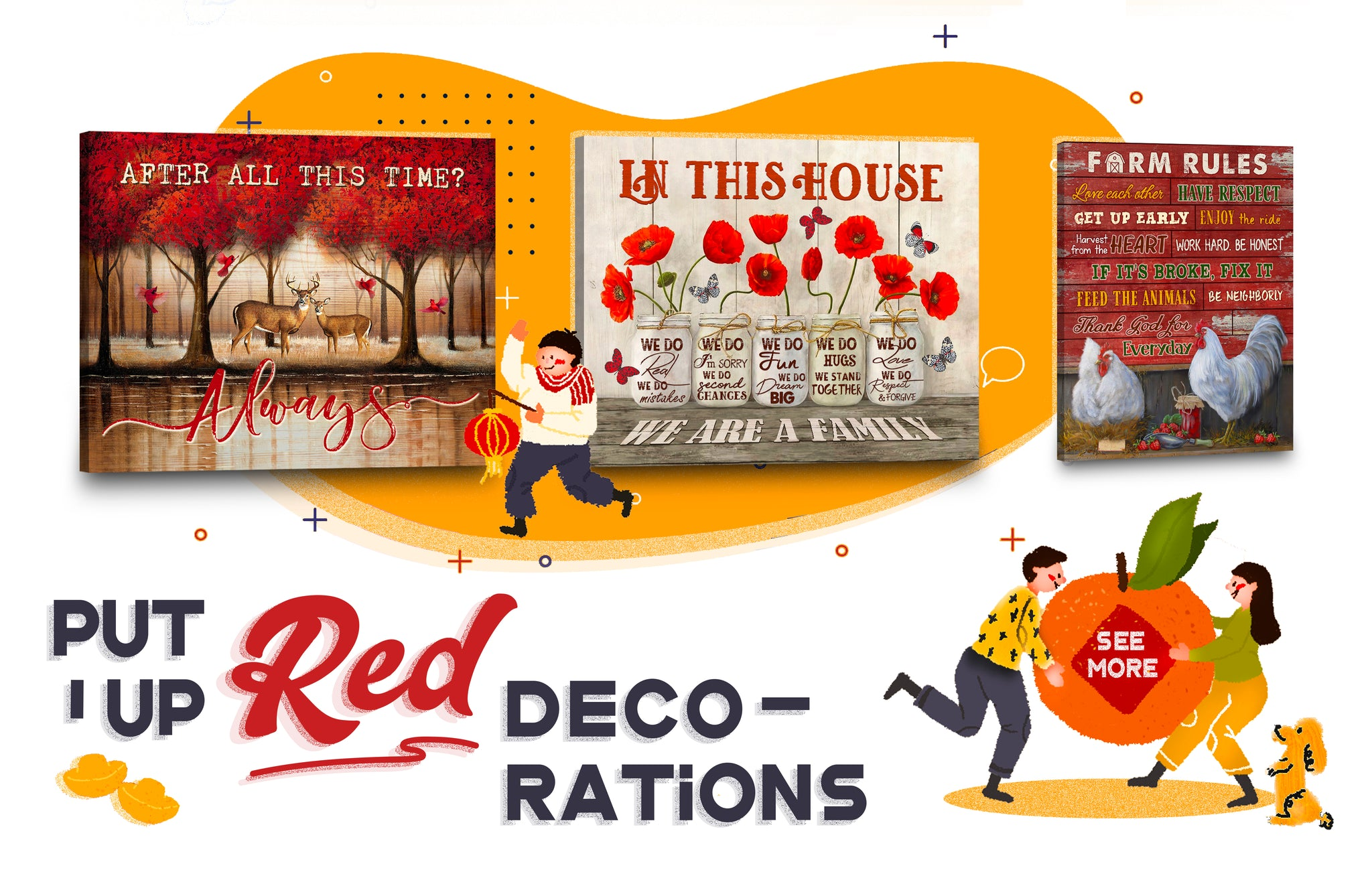 stunning gift store blog how to celebrate lunar new year put up red decorations