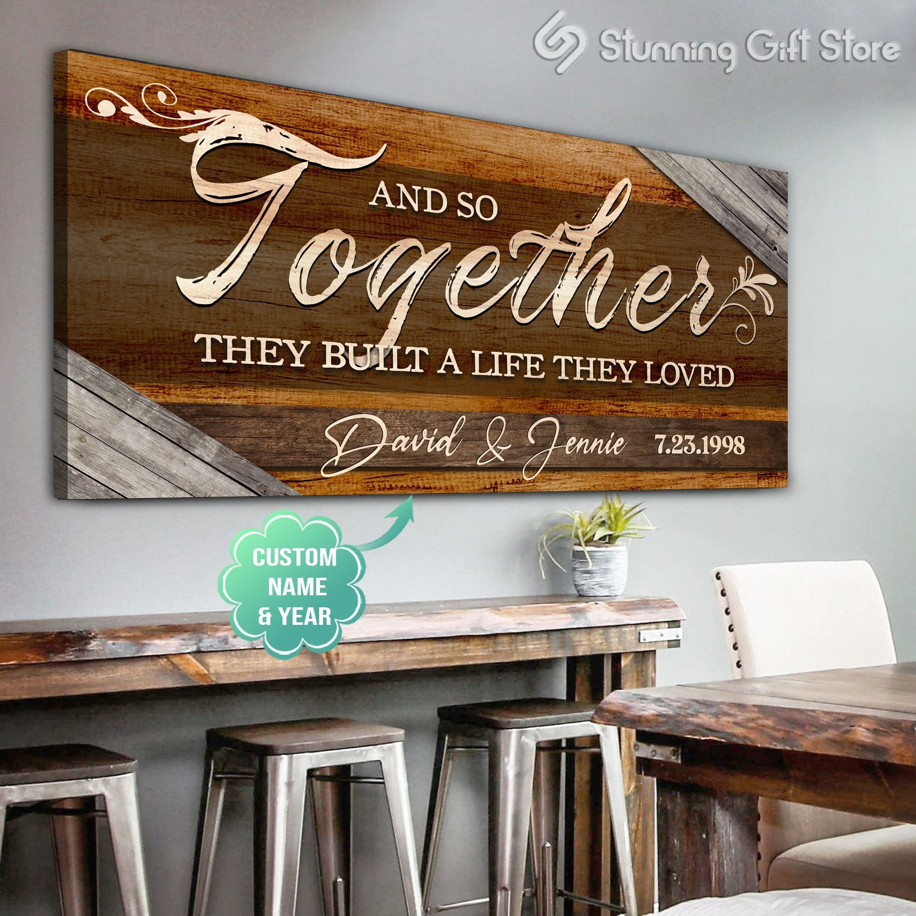 Gift idea for married couple   anniversary present ideas   Best gifts for married couple