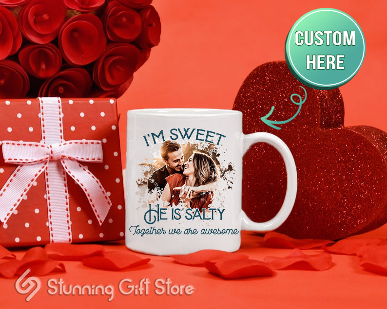Stunning Gift Store Personalized Mug Valentine's Day Gift For Couples
