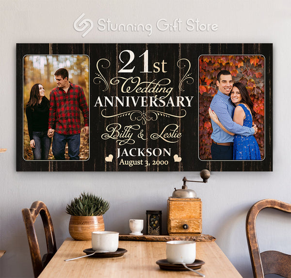 21st Anniversary Gift For Husband and Wife, 21 Year Anniversary Gift Ideas, Twenty-first Year Anniversary Gifts
