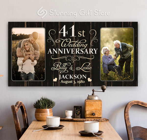 41st Anniversary Gift For Husband and Wife, 41 Year Anniversary Gift Ideas, Forty-first Year Anniversary Gifts