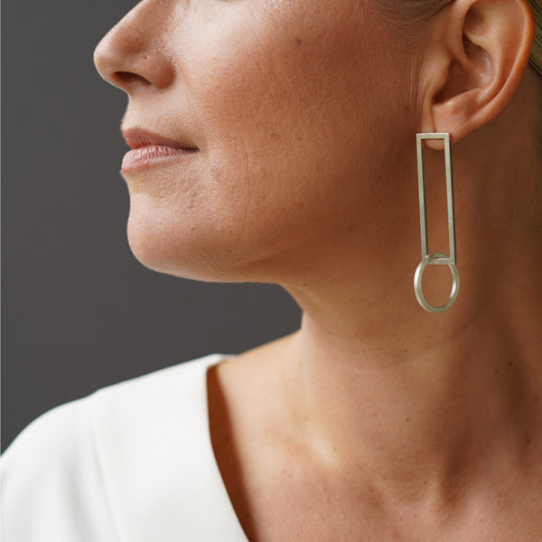 TUOHI Jewelry MUOTO Statement Earrings