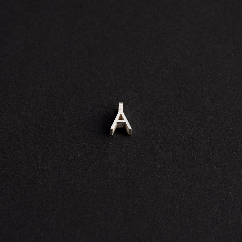 TUOHI Jewelry SANA Necklace, Letter A