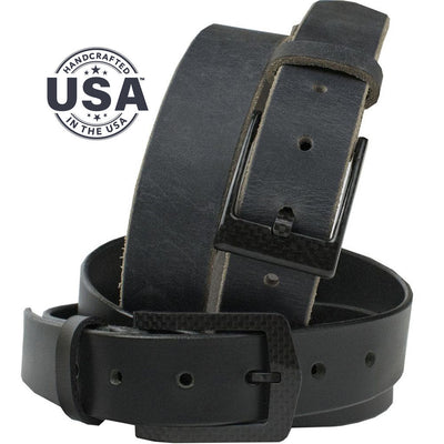 The Trekker Belt Set by Nickel Smart. Nickel free and handcrafted in the USA. TSA/Metal detector friendly