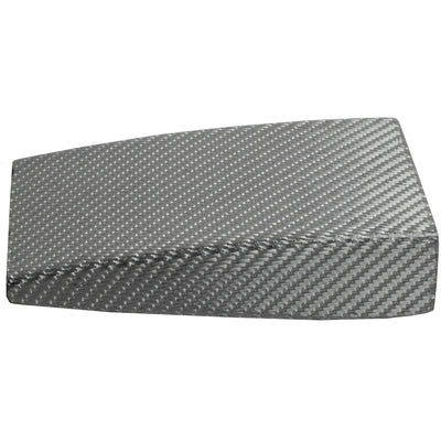 "Carbon Fiber Silver Weave Hook Buckle (1½"") by Nickel Smart - athenaallergy.com, lightweight"