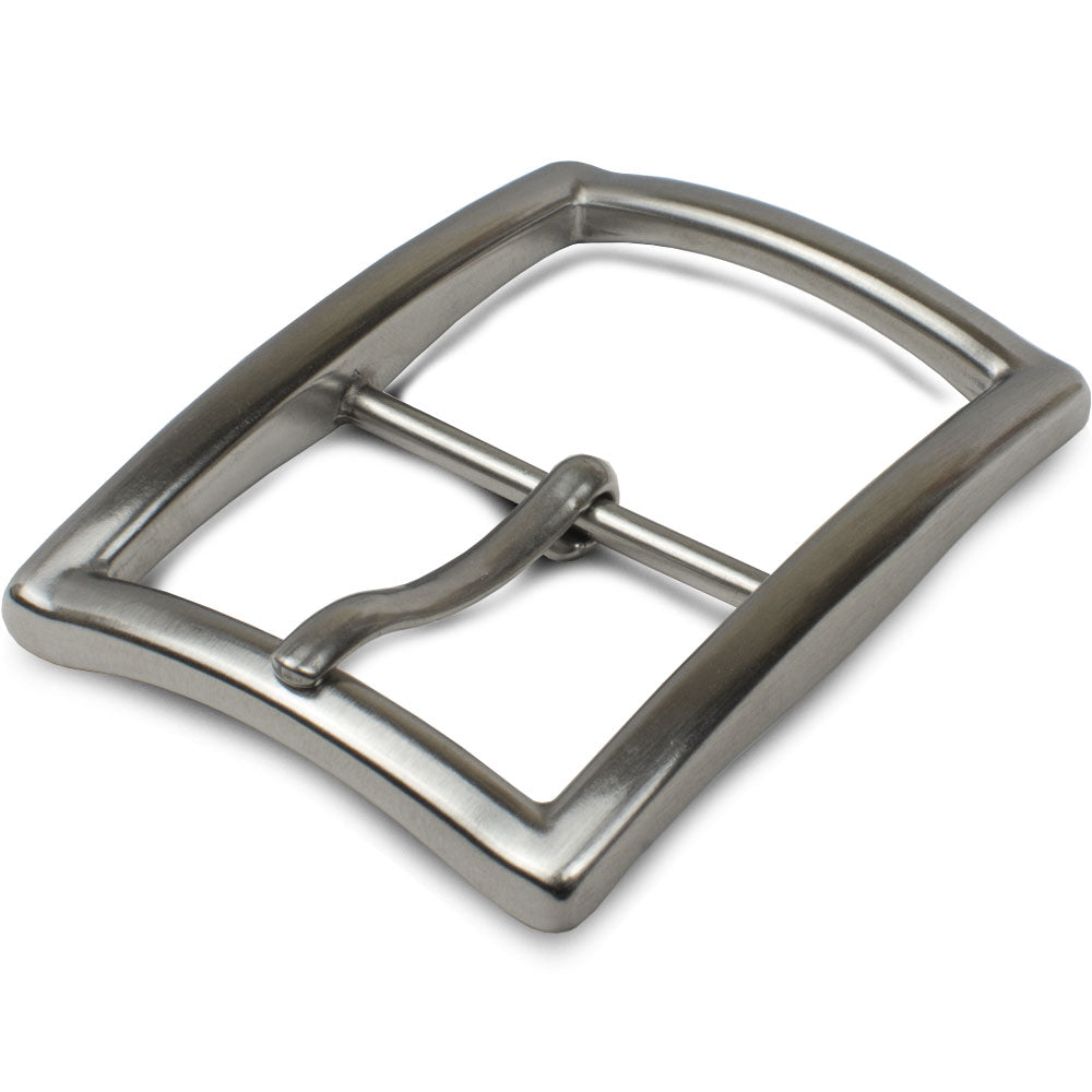 "Titanium Center Bar Dress Buckle (1⅜ "") by Nickel Smart®"
