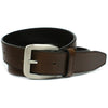 Nickel free Casual Brown Belt - leather strap, handsome nickel free buckle