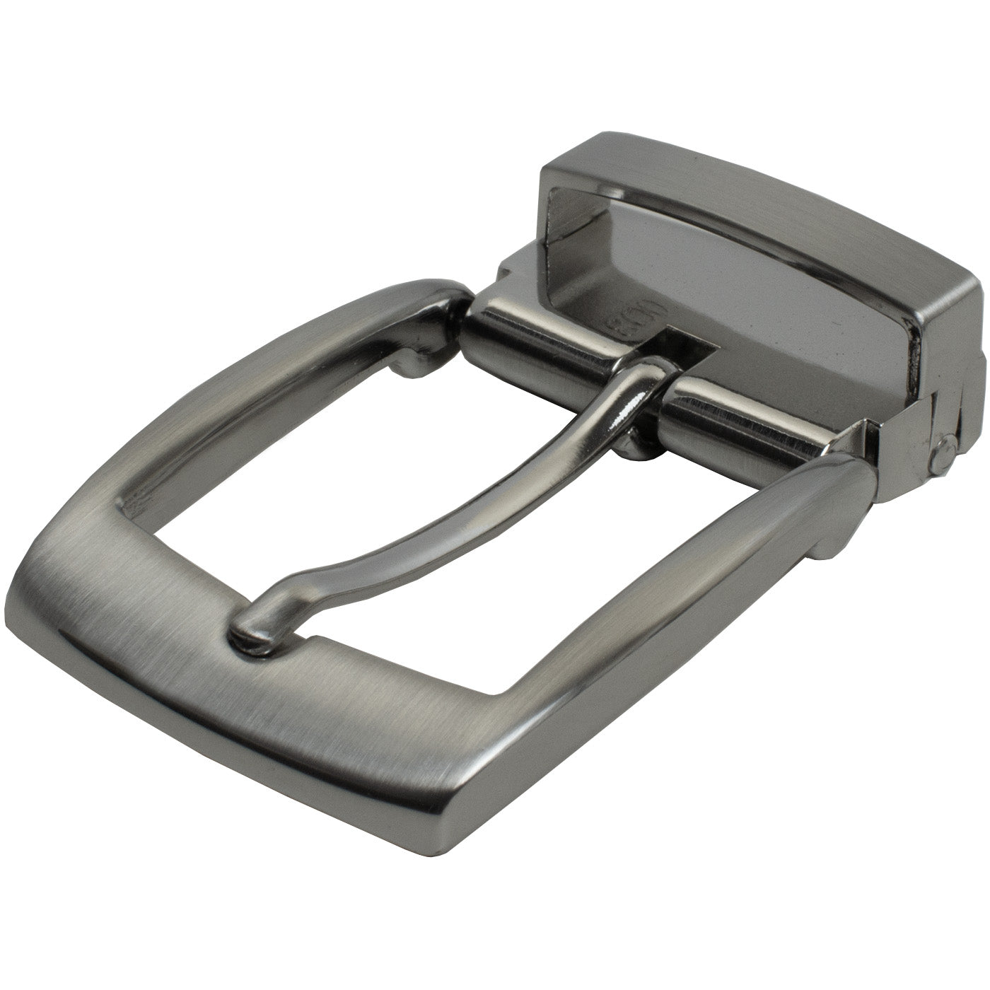 "Clamp Pin Buckle (1⅜"") by Nickel Smart - athenaallergy.com, nickel free, hypoallergenic"