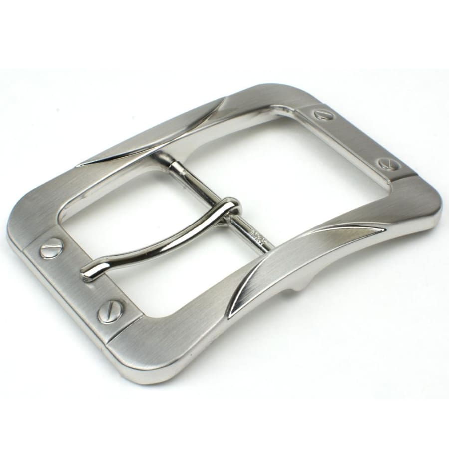 Nickel Free Center Bar Buckle - The Journeyman Buckle