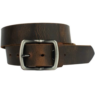 Rocky River Brown Belt by Nickel Smart - athenaallergy.com, made in the USA