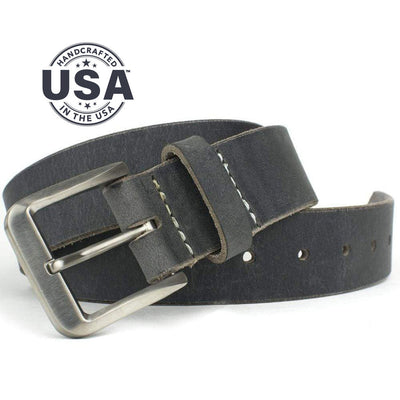 Nickel Free Belt - Smoky Mountain Distressed Leather Belt