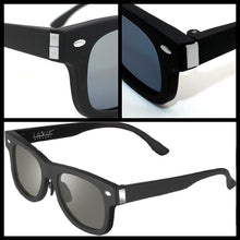 Load image into Gallery viewer, Smart Tint 7-in-1 Dimmable  Sunglasses. New 2020 Model With Manual Transparency Control