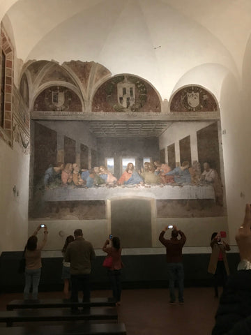 Last Supper Painting Milan Italy