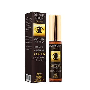 Eye area serum - Repair - Organic Moroccan Argan & vitamins E, A, K - 10 ml