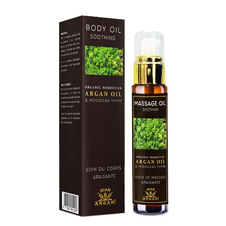 Massage Oil - Soothing - Argan oil & Moroccan thyme - 50 ml