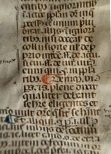 Load image into Gallery viewer, [Pope Boniface] Leaf from Sextus Liber Decretalium