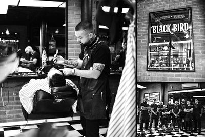 Barbers of the Month: Barberia Black Bird