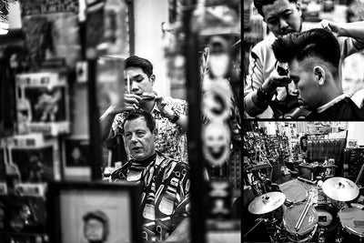 Barbers of the Month: The Panic Room